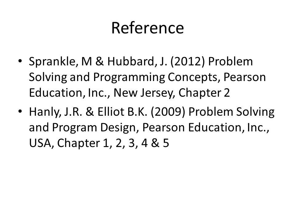 Reference Sprankle, M & Hubbard, J.