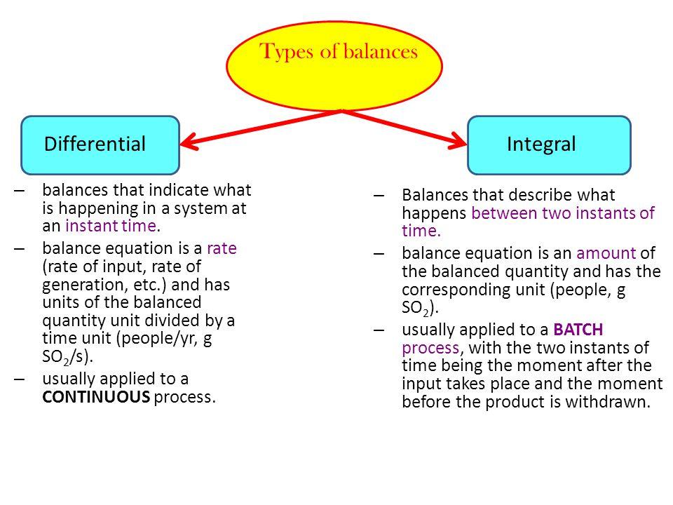 500 kg B/h 500 kg T/h 450 kg B/h (kg T/h) (kg B/h) 475 kg T/h Steady state accumulation = 0 Since no chemical reactions occur generation & consumption = 0 INPUT = OUTPUT Benzene Balance 500 kg B/h = 450 kg B/h + Toluene Balance 500 kg T/h = + 475 kg T/h = 50 kg B/h = 25 kg T/h