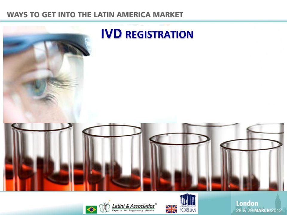 IVD REGISTRATION