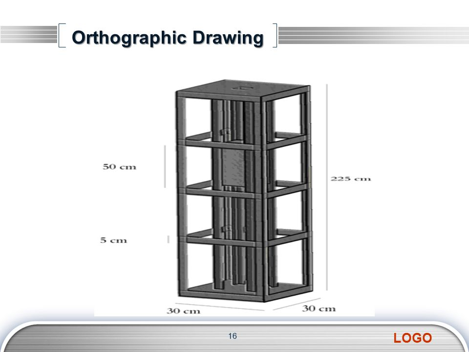 LOGO Orthographic Drawing 16
