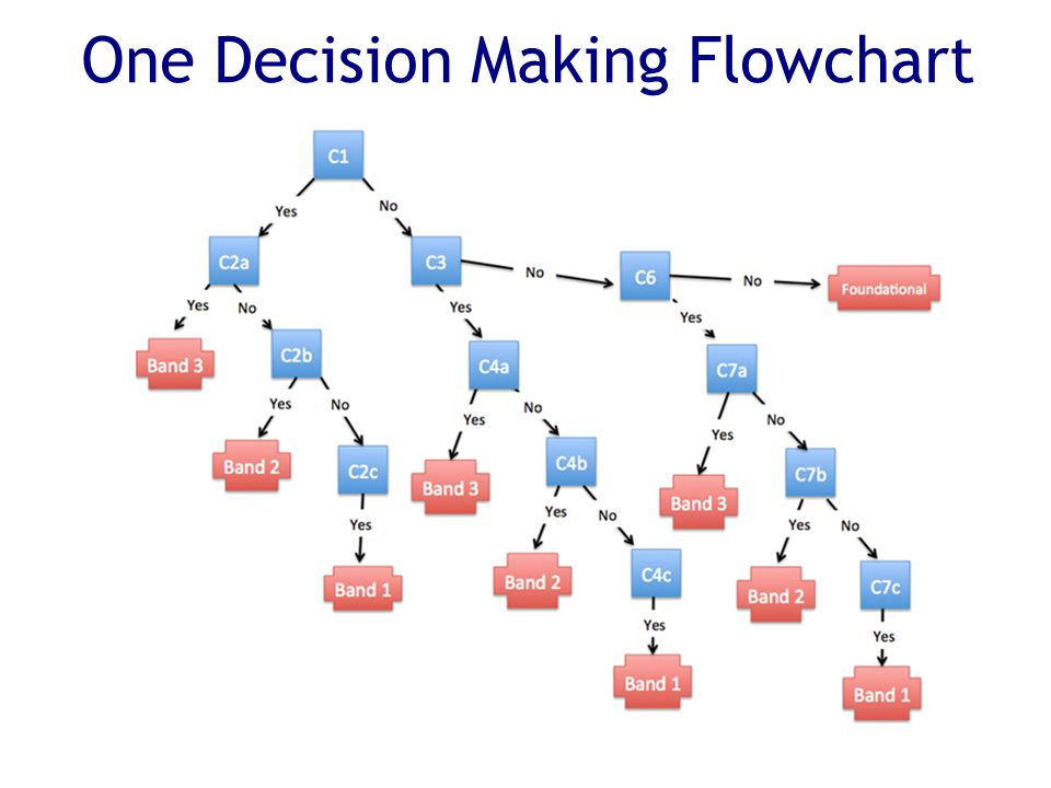 One Decision Making Flowchart