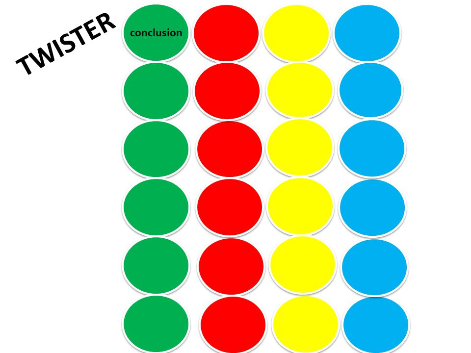 TWISTER conclusion