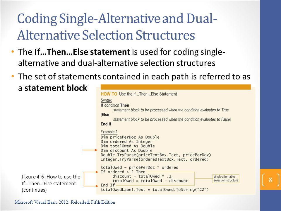 Modified Problem (v2) Modify our code as seen in previous slide Microsoft Visual Basic 2012: Reloaded, Fifth Edition 9