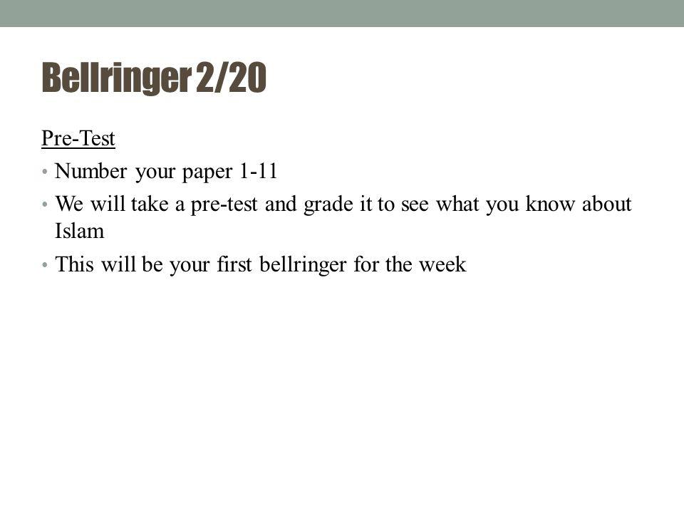Bellringer 2/20 1.____ cover(s) most of the Arabian Peninsula.