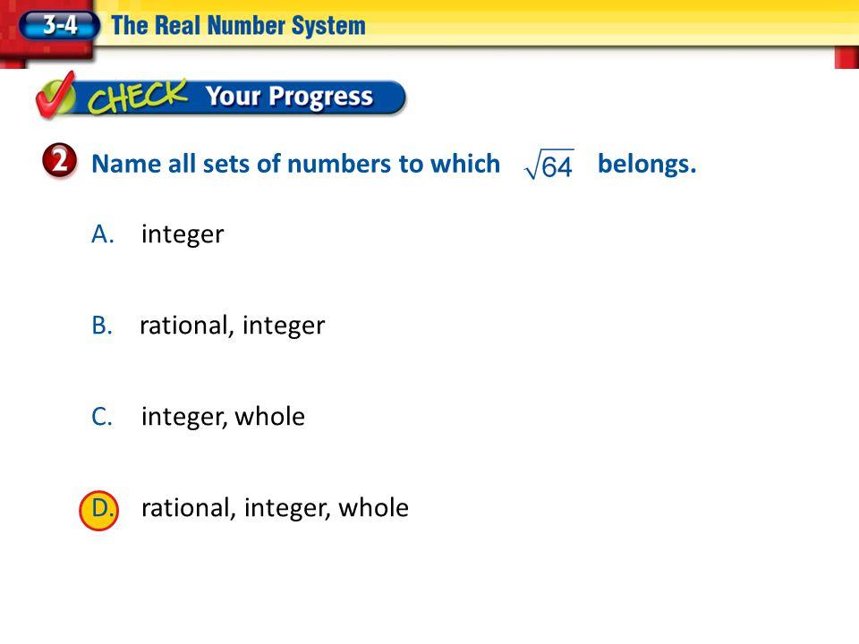 A.integer B.
