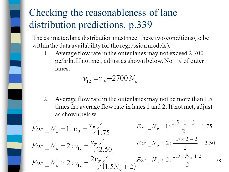 Checking the reasonableness of lane distribution predictions, p.339 Chapter 1528 The estimated lane distribution must meet these two conditions (to be
