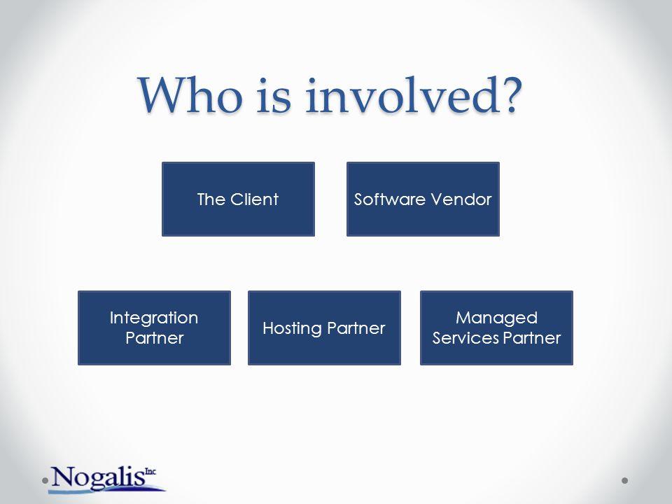 The ClientSoftware Vendor Integration Partner Hosting Partner Managed Services Partner