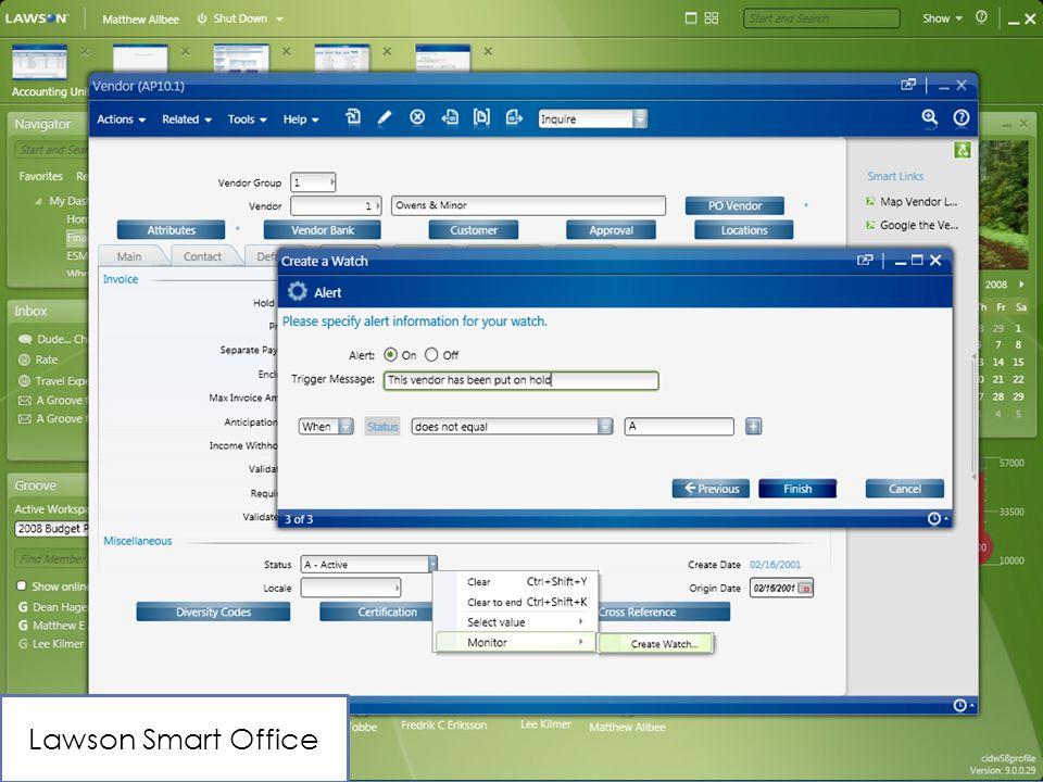 Lawson Smart Office