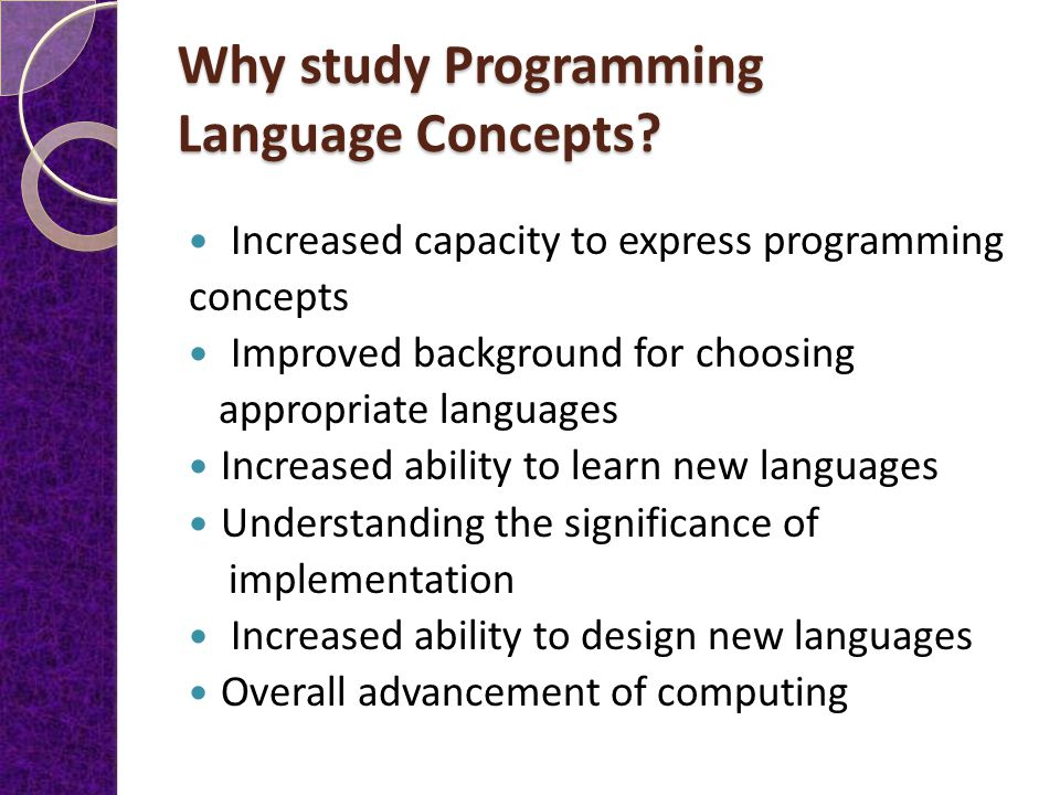 Fundamental of Programming(101)