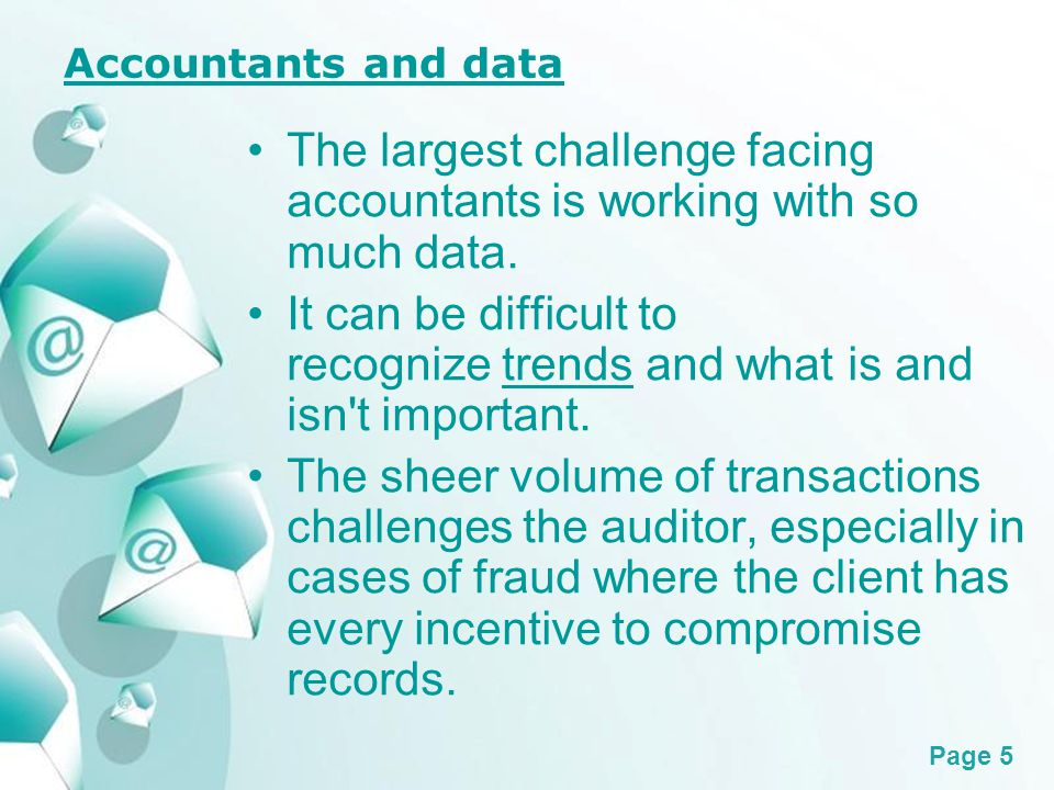 Powerpoint Templates Page 6 The exponential power of Technology Technology has allowed for many advances in the practice of accounting in recent years.