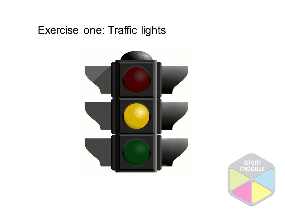 Red Green Amber + Traffic lights sequence: