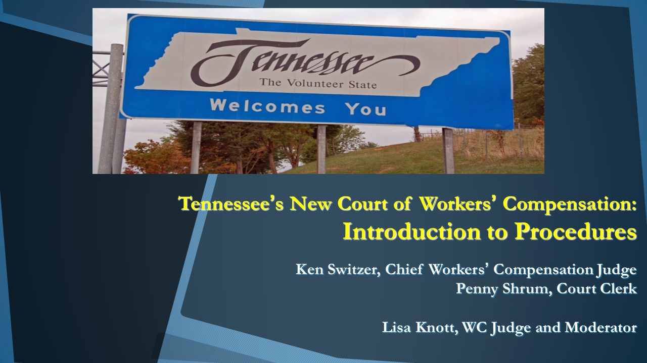 The Court of Workers' Compensation Claims Chief Judge Kenneth M.