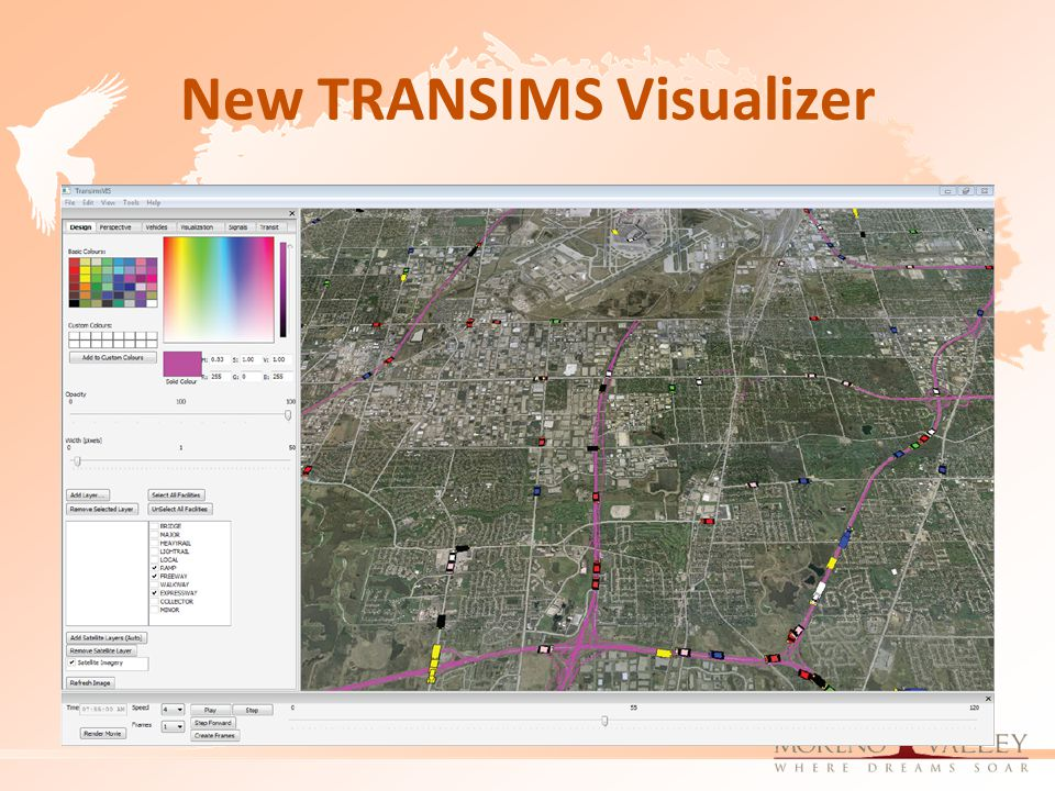 New TRANSIMS Visualizer