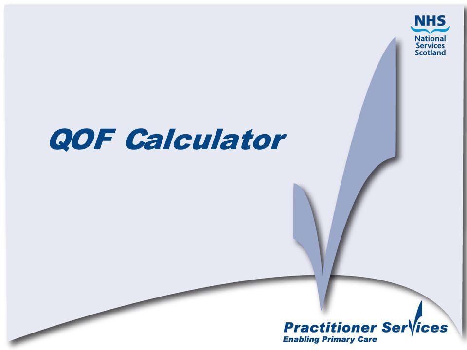 QOF Calculator