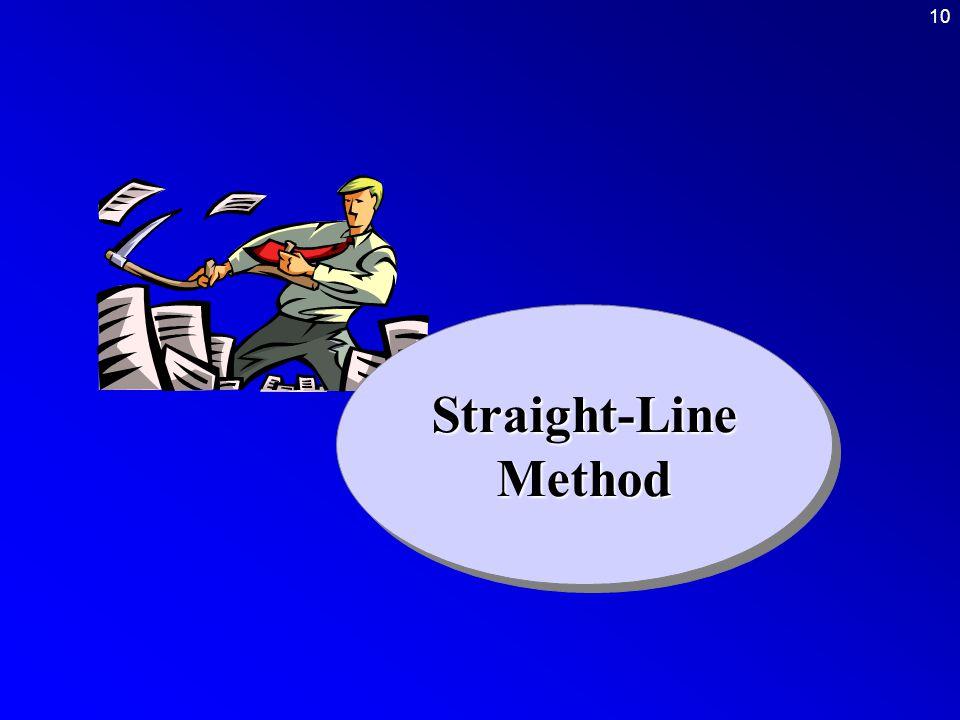10Straight-LineMethodStraight-LineMethod