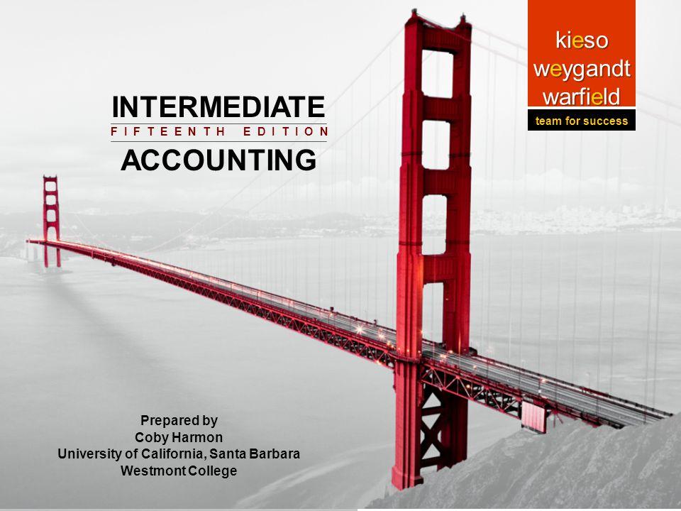 14-1 Prepared by Coby Harmon University of California, Santa Barbara Intermediat e Accounting Prepared by Coby Harmon University of California, Santa
