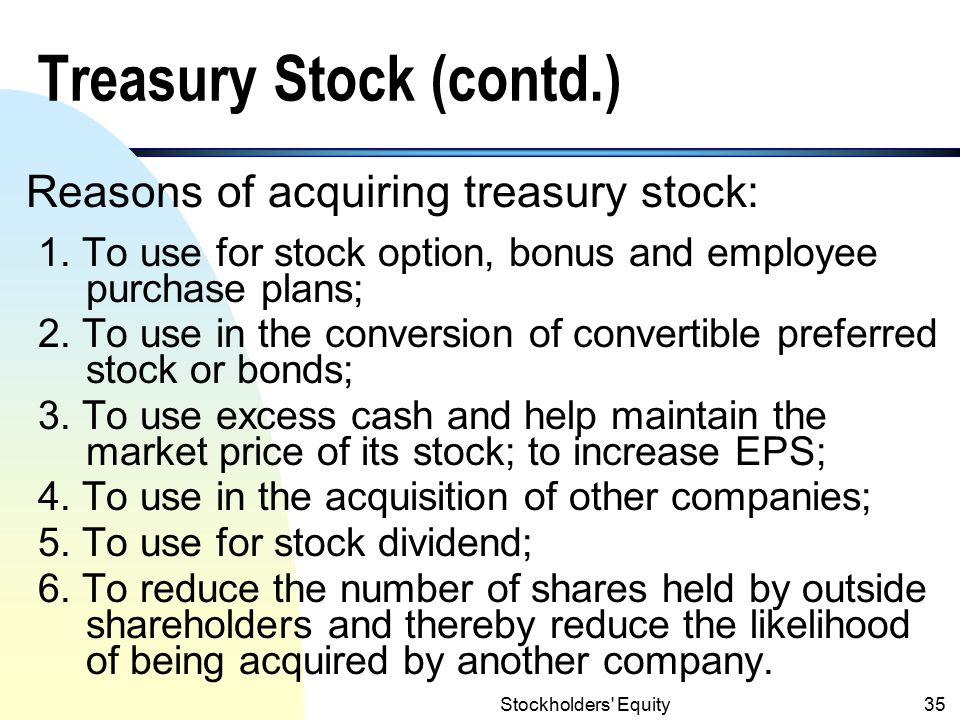 Stockholders Equity34 3.