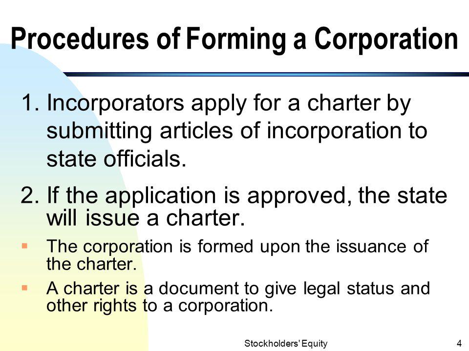 Stockholders Equity3 I.