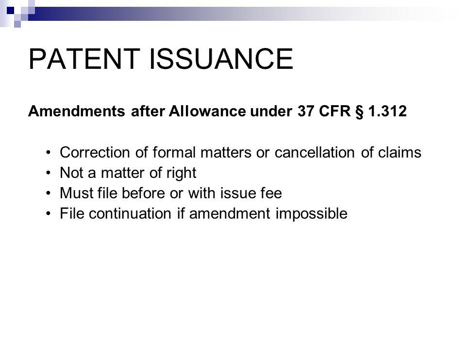 (1) Statutory disclaimer (2) Terminal disclaimer Disclaimers
