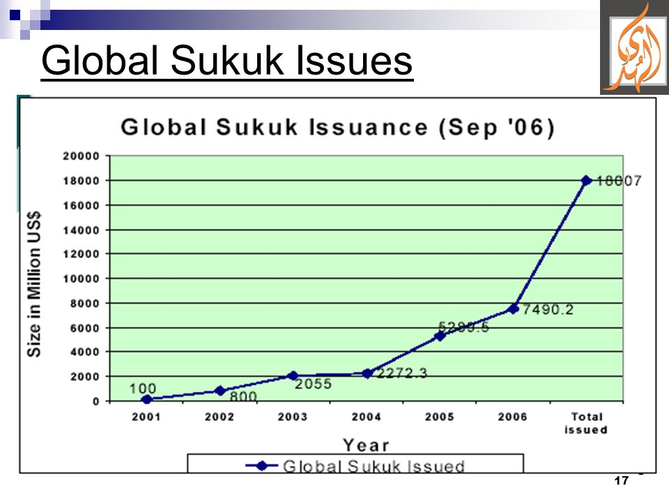 17 Global Sukuk Issues