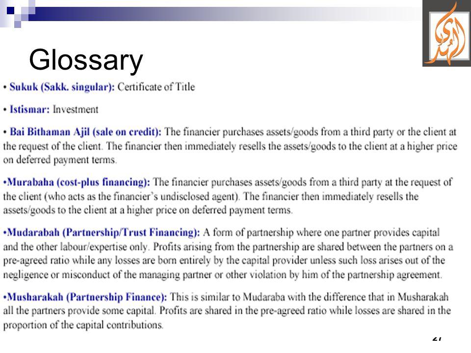 27 Glossary