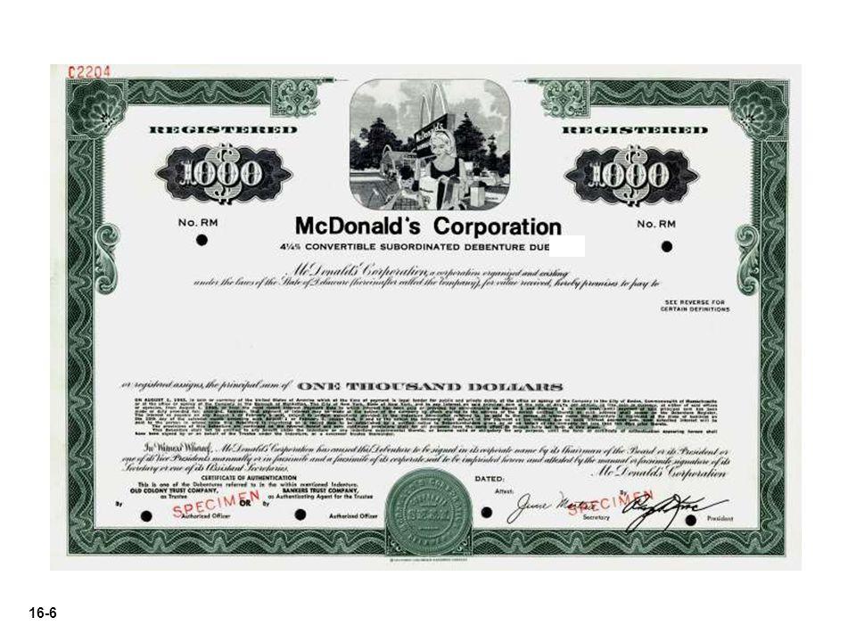 16-27 Illustration: Margolf Corp.issued 2,000, $1,000 bonds at 101.