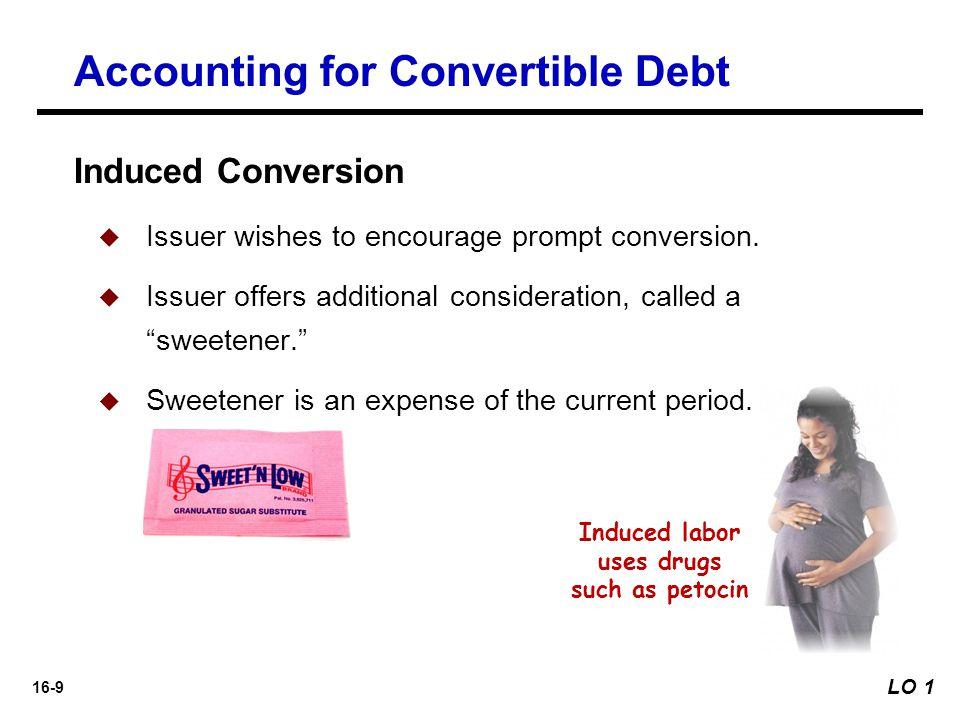 16-10 Illustration: Miller Corporation issued $4,000,000 par value, 7% convertible bonds at 99 for cash.