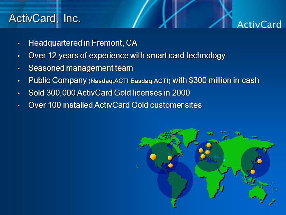 ActivCard, Inc.