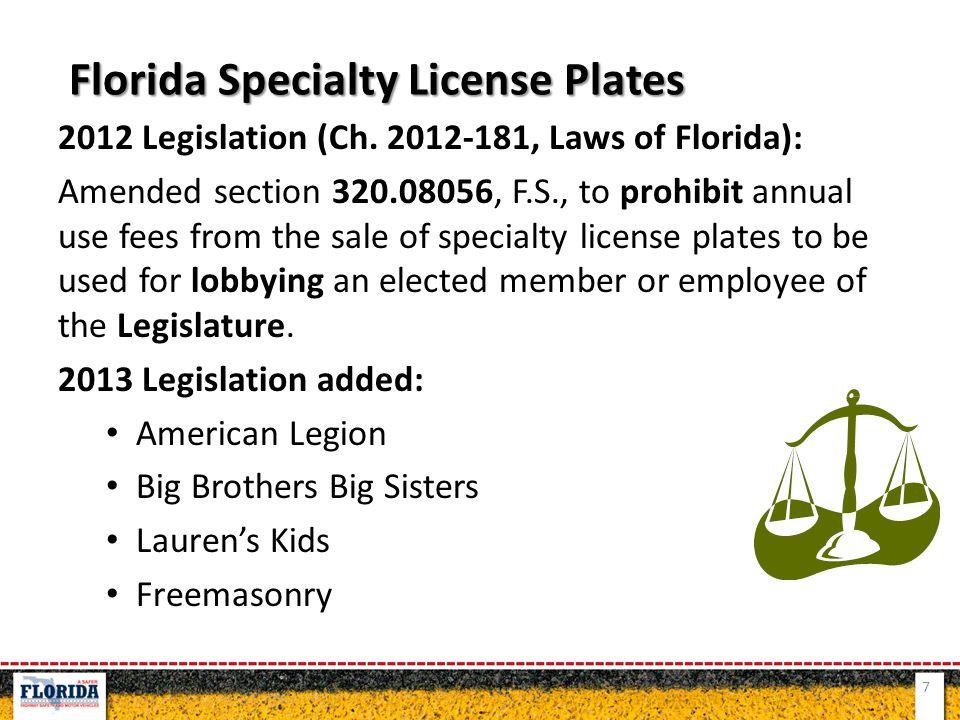 2012 Legislation (Ch.