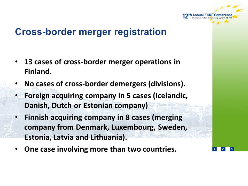 Cross-border merger registration Kaupthing Bank Oyj -> Kaupthing Bank h.f.