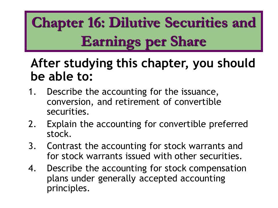 5.Explain the controversy involving stock compensation plans.