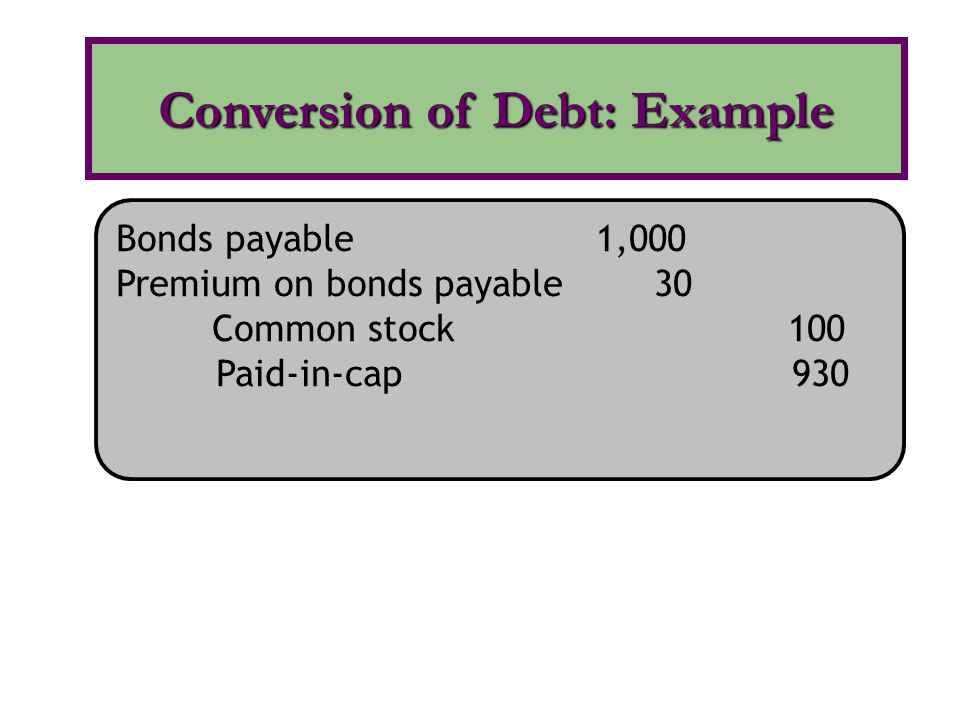 The conversion of the securities into common stock is assumed to occur at the beginning of the year or date of issue, if later.