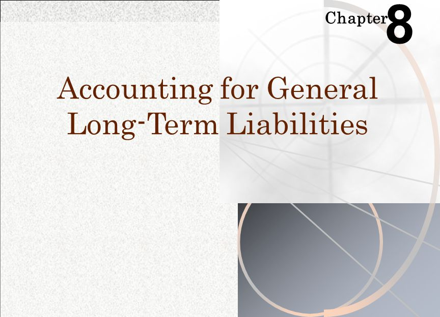 Term bonds  Principal matures in one lump-sum amount at the end of the bond term  Not used as frequently for municipal financing as serial bonds.