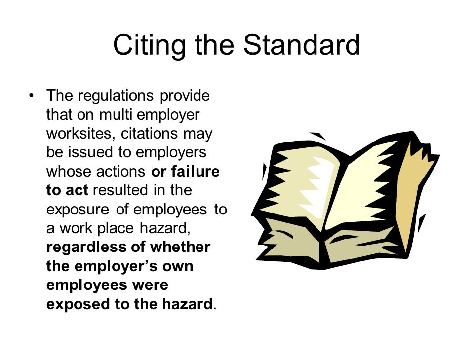 Multi-Employer Worksite A multi-employer worksite is defined as a workplace where more than one employer (and his/her employees) work, but not necessarily at the same time.