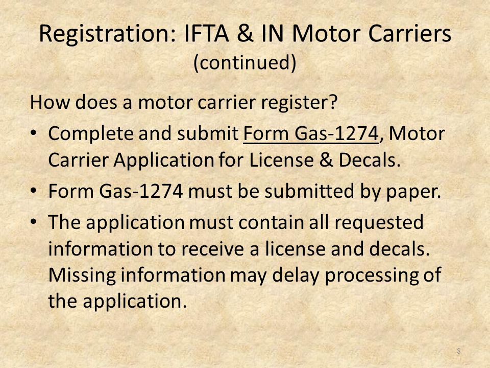19 The most efficient method for renewing your license and decals is to order your credentials electronically by accessing your Motor Carrier account through our IFTA/Intrastate web application at: www.dornc.com/electronic/ifta.html If you have not yet set up your Motor Carrier online account and need assistance, please contact us at 877-308-9092.