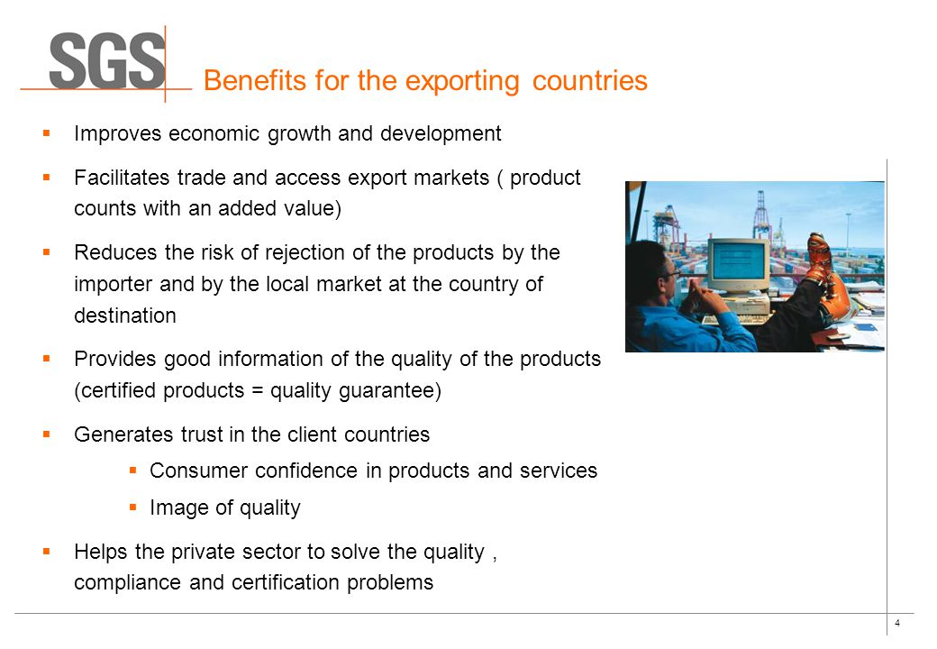 5 Depending on the nature of the product and certification scheme, the verification procedure may include one or a combination of the following activities:  Product testing  Physical Inspection  Factory and desk Audits  Documentary review Product's conformity with defined requirements is evidenced by a document of compliance (e.g.