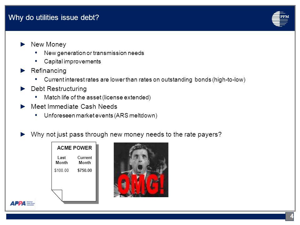 PFM Mandatory Redemption Provisions (cont'd) 35 Public Financial Management, Inc.