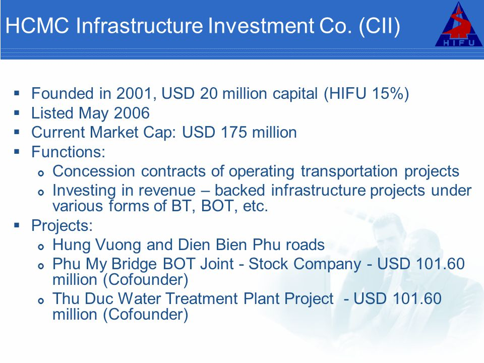 HCMC Infrastructure Investment Co.