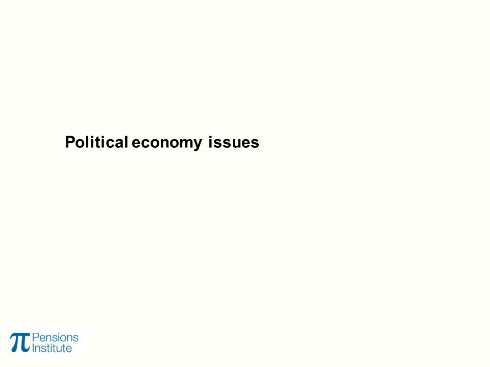Political economy issues