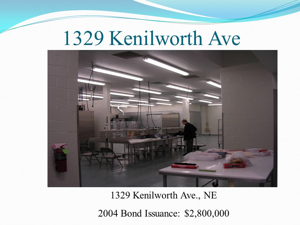 1329 Kenilworth Ave 1329 Kenilworth Ave., NE 2004 Bond Issuance: $2,800,000