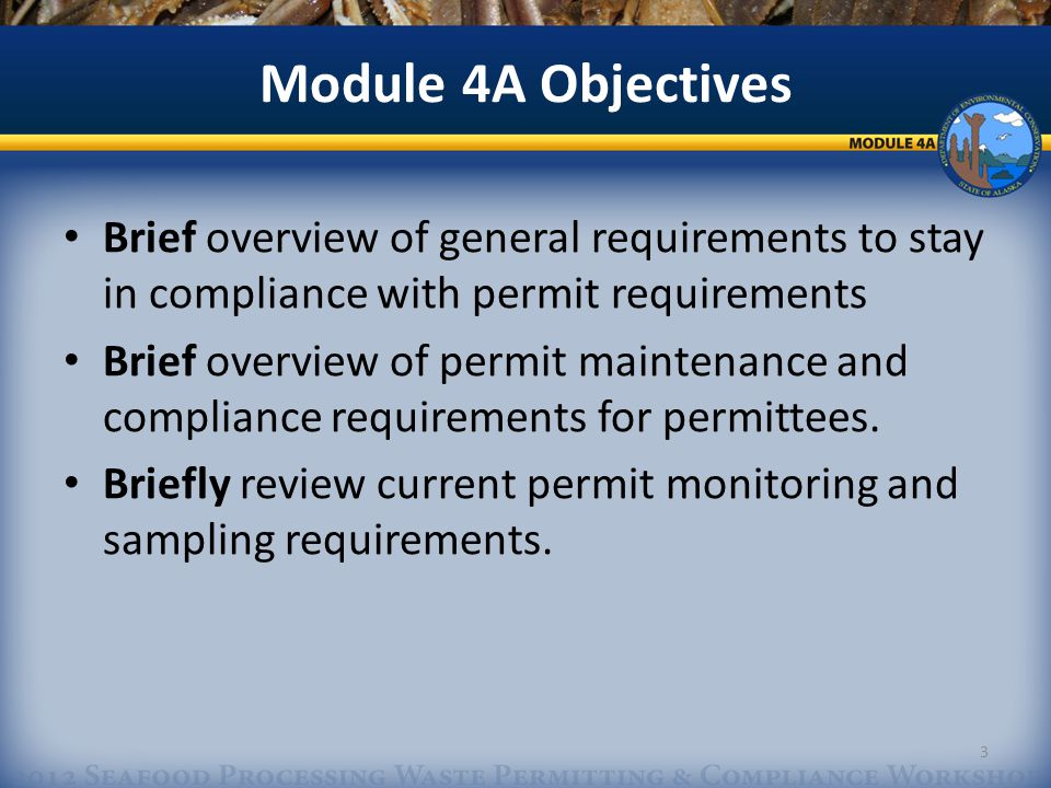 APDES Permit Maintenance AKG 520000 Annual Report The annual report will include the following information: 24 APDES permit number Company name Owner name Operator name Facility name Authorized representative name\title USCG vessel number (vessel only) Mailing address Telephone number(s) Email address Facsimile number.