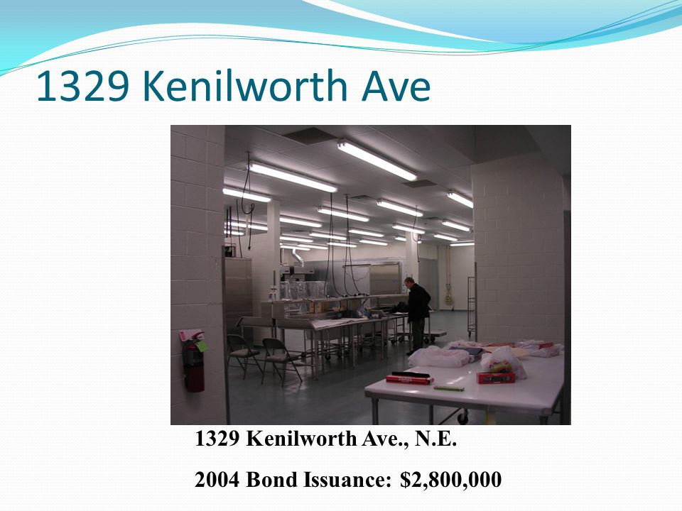 1329 Kenilworth Ave 1329 Kenilworth Ave., N.E. 2004 Bond Issuance: $2,800,000