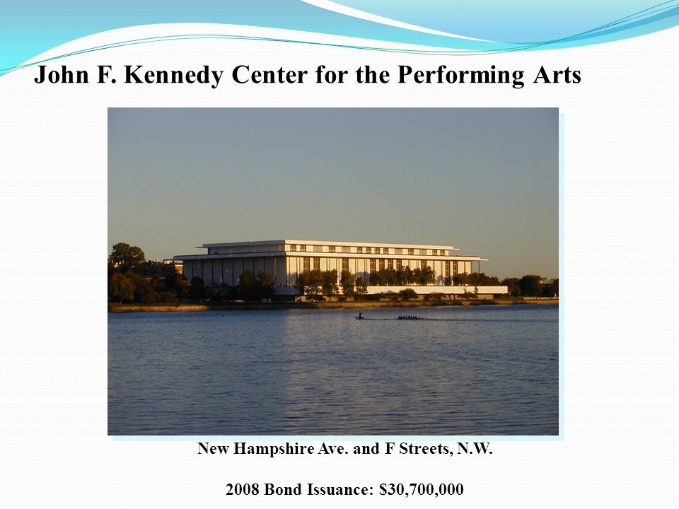 John F.Kennedy Center for the Performing Arts New Hampshire Ave.