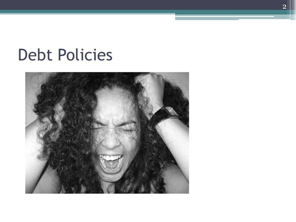 Debt Policies 2