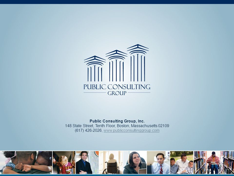 29 Public Consulting Group, Inc.