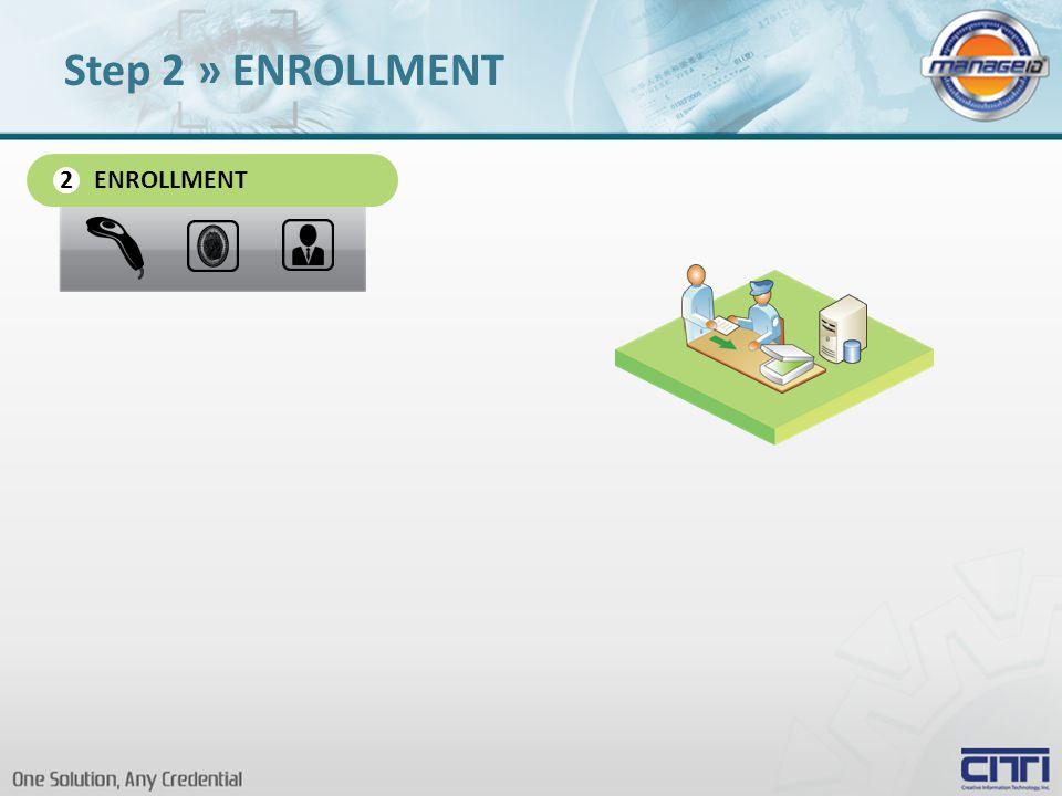 ENROLLMENT 2 Step 2 » ENROLLMENT