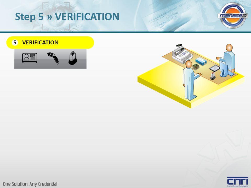 VERIFICATION 5 Step 5 » VERIFICATION