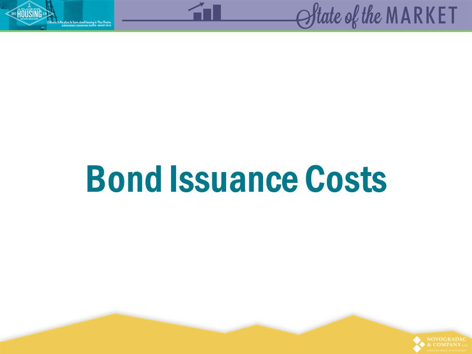 Bond Issuance Costs