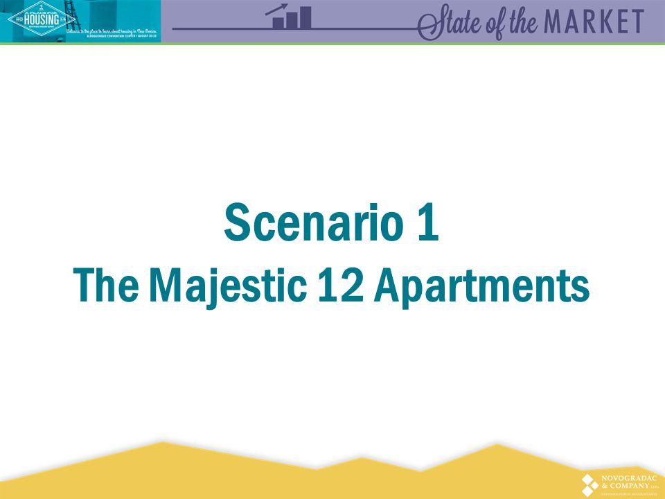 Scenario 1 The Majestic 12 Apartments