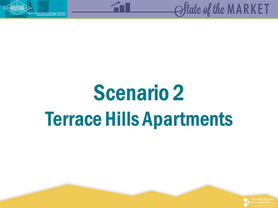Scenario 2 Terrace Hills Apartments